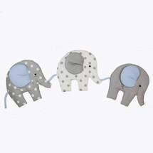 MOXY BLUE Nursery Elephant Parade