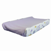 HOOTY LILAC Baby Change Pad Cover