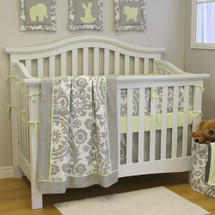DOVE 4 PC Set Crib Bedding