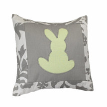 DOVE Bunny Applique Nursery Pillow