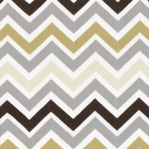 CHEVRON GREY Fabric