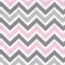 CHEVRON PINK Fabric