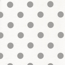CHEVRONS GREY DOT Fabric