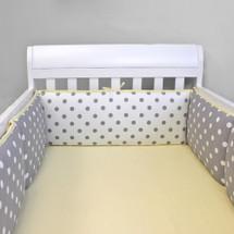 MOXY LEMON Baby Crib Bumper Pads