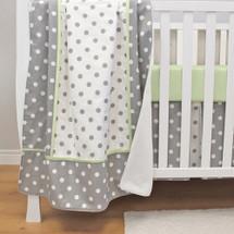 MOXY KIWI Baby Crib Blanket