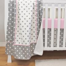 MOXY PINK Baby Crib Blanket