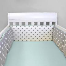 MOXY AQUA Baby Crib Bumper Pads