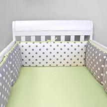 MOXY KIWI Baby Crib Bumper Pads