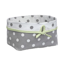 MOXY KIWI Dark Soft Nursery Basket
