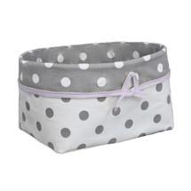 MOXY LILAC Lite Soft Nursery Basket