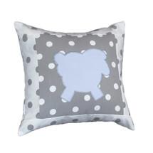 MOXY BLUE Lammy Applique Nursery Pillow