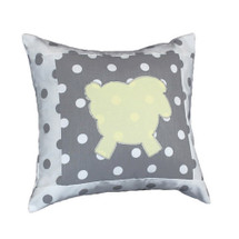 MOXY LEMON Lammy Applique Nursery Pillow