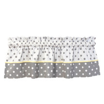 "MOXY LEMON 104"" Panel Nursery Valance"