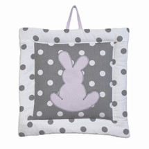 MOXY LILAC Bunny Nursery Wall Art