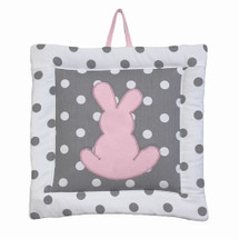 MOXY PINK Bunny Nursery Wall Art