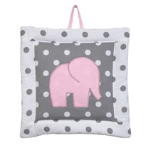MOXY PINK Elephant Nursery Wall Art