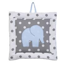 MOXY BLUE Elephant Nursery Wall Art
