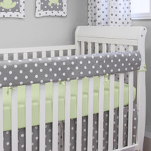 MOXY KIWI Baby Crib Rail Protector
