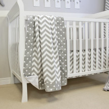 Baby Blanket, Lifetime Crib Sheet, and Dust Ruffle
