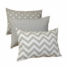 SIMPLY GREY Lumbar Nursery Pillow