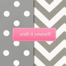 SIMPLY GREY Fabric Crafting Bundle