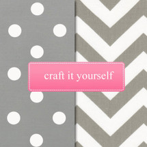 SIMPLY GREY Fabric Crafting Bundle
