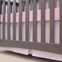 PINK JULEP Crib Skirt