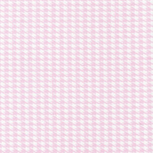 PINK JULEP Pink Houndstooth Fabric