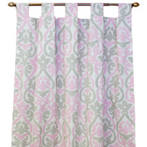 PINK JULEP Long Drapes (set of 2)