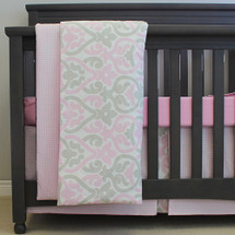 PINK JULEP Toddler Bed Duvet Set
