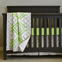 KEEWEE Crib Set 3 Pc (PREMIUM) Bumperless