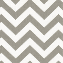 SIMPLY GREY ZigZag Fabric