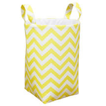 Small hamper in Yellow Chevron