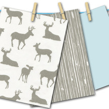 "GREY DEER SWATCHES - 4 Colour Options -- ""FREE"""