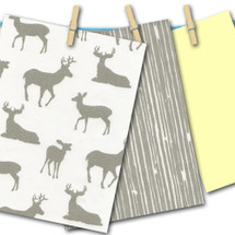 Grey Deer with Lemon FREE SWATCHES