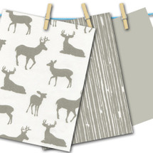 Grey Deer with Grey FREE SWATCHES