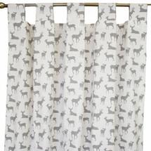 grey deer tab top drapes