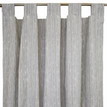 grey bark tab top drapes