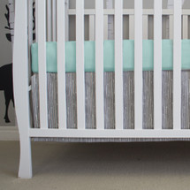 Crib Sheet and dust ruffle set