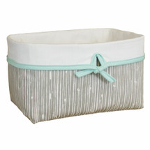 GREY DEER Soft Nursery Basket - Bark Fabric