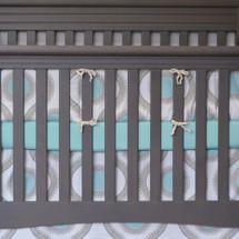 AQUILA Baby Crib Bumper Pads