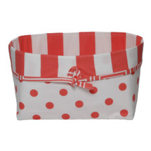 Coralee Soft Nursery Basket -- Dot