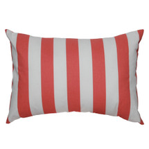 Coralee Lumbar Nursery Pillow -- Stripes