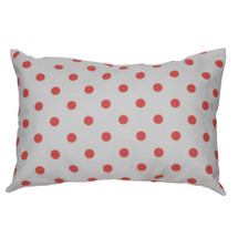 Coralee Lumbar Nursery Pillow -- Dots