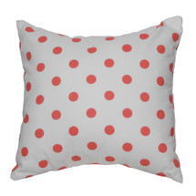 Coralee Toss Nursery Pillow -- Dots