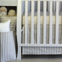 "STARLET ""Premium"" 2PC Crib Bedding Set (Skirt & Sheet)"