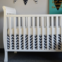 SIMPLY NAVY Crib Skirt