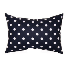 SIMPLY NAVY Lumbar Nursery Pillow - Lite Dot