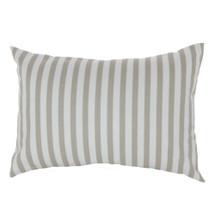 STARLET Lumbar Pillow - Tan Stripe