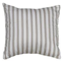 STARLET Decor Nursary Pillow - Tan Stripe